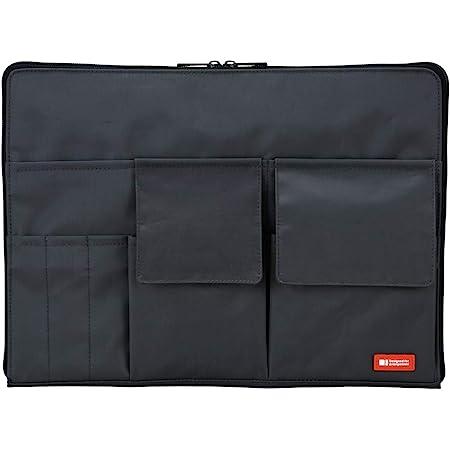 リヒトラブ バッグインバッグ A4 黒 A7554-24