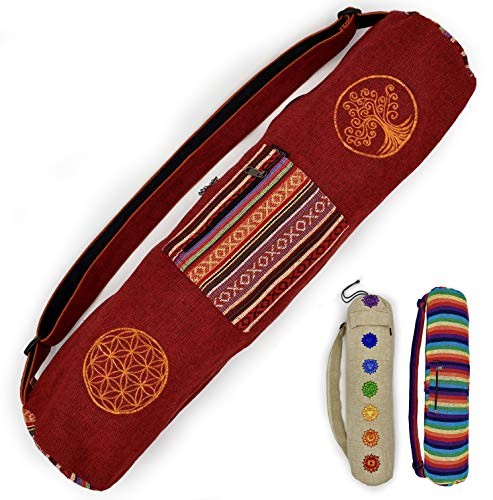 Gringo Fair trade Yoga mat bag   Fit your Yoga Mat, Yoga Accessories and More in these...