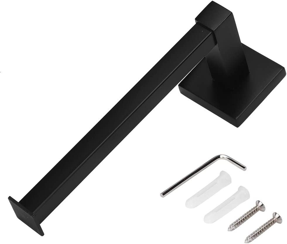 Marvellous Popular standard Tissue Holder Black Wall Toilet Roll Today's only Pa Rack Mounted