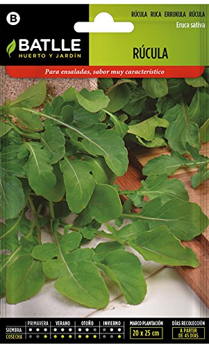 Semillas Aromáticas - Rúcula - Batlle