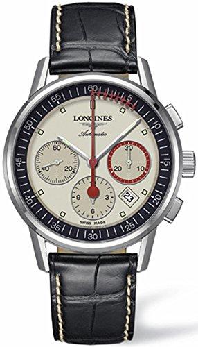Longines Heritage Column Wheel Chronograph Record L4.754.4.72.4