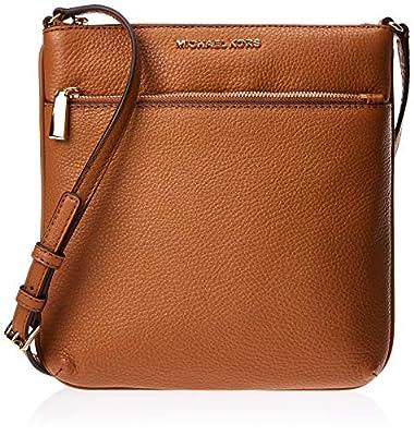 MICHAEL Michael KorsRiley Small Flat Crossbody Bag (Acorn)