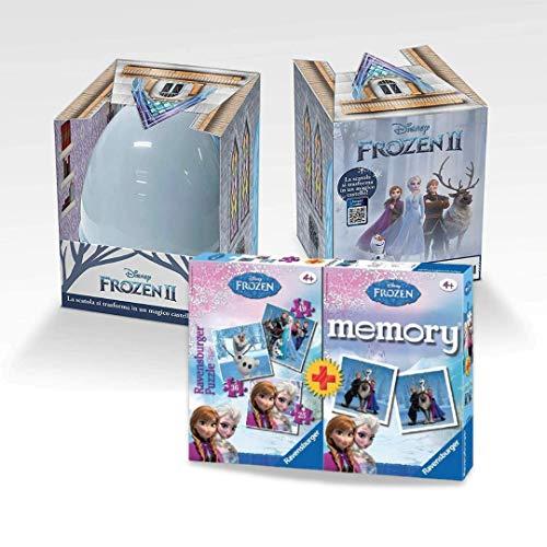 Super Pasqualone Frozen 2 2021 Pasqualone con Puzzle Frozen e Memory