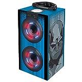 Vengadores, Marvel - Altavoz portatil, Mini Torre Sonido Luminosa, Bluetooth, Puertos USB/SD / MP3, batería Recargable (BT600AV)
