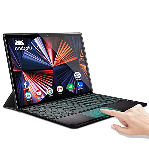 Tablet 10.1 Pulgadas Baratas y Buenas Android 11.0 Octa-Core 2.0 GHz 1920x1200 DUODUOGO A7 6GB RAM 64GB ROM/TF 512GB 4G Dual...