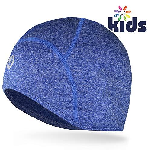Empirelion kinderen helm liner tieners dun thermisch schedel caps Cover oren bonie kind hardlopen hoeden voor jongen & meisje