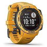 Garmin Instinct Solar - wasserdichte GPS-Smartwatch mit Solar-Ladefunktion für...
