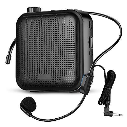 Amplificador de Voz con micro de diadema