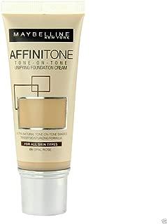 3 x Maybelline Affinitone Unifying Foundation Cream 30ml - 09 Opal Rose