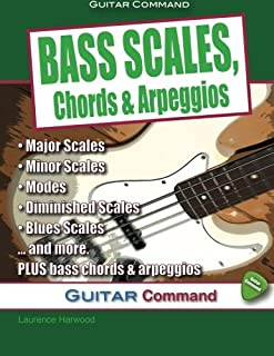 bass scales chords and arpeggios