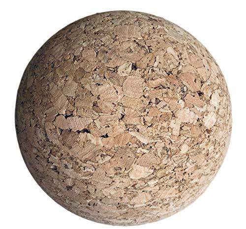 Kork Faszienball 5cm o. 10cm Ø – Korkball als Faszien Kugel Kork 50mm o. 100mm – Durchmesser wählen (5cm Ø)