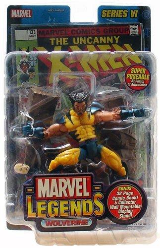 Marvel Legends Wolverine (Unmasked Variant) 5 Inch Action Figure Series VI