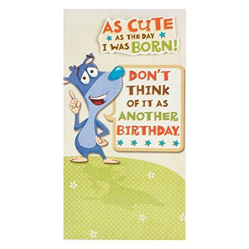 Hallmark 11020445 verjaardagskaart, stuks: 1