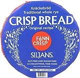 Finn Crisp Siljans Traditional Whole Rye Crisp Bread, 14 Ounce Package