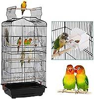 開くトップ 媒体 鳥籠 用 インコ フィンチ カナリア諸島 恋人 たち,小さな クエーカー オウムコッカティエル バッジー 旅行 ペットフライト 鳥かご