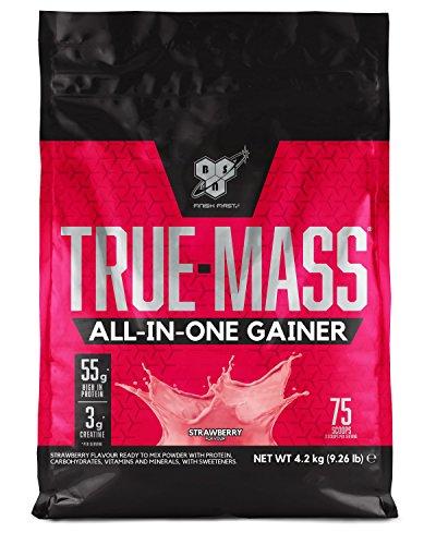 BSN All In One Proteine in Polvere per Aumentare la Massa Muscolare, Fragola, 4.2 kg, 25 Porzioni
