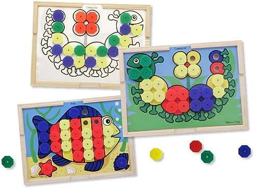 Venta en línea de descuento de fábrica Sort and Snap Color Pairing Activity Board + + + FREE Melissa & Doug Scratch Art Mini-Pad Bundle [43137]  ahorra hasta un 80%