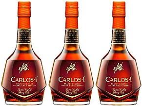 Brandy Carlos I de 70 cl - D.O. Jerez - Bodegas Osborne (Pack de 3 botellas)
