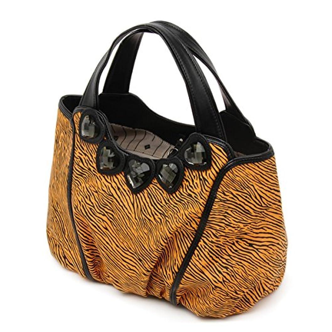 定期的な家庭教師クマノミ(サボイ)SAVOY ハンドバッグ SM13620104 ブラックオレンジ