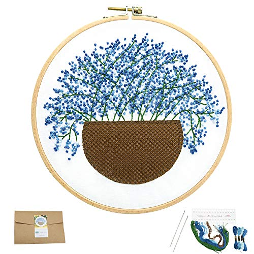 (50% OFF) Embroidery Kit for Beginners 🌼 $6.50 – Coupon Code