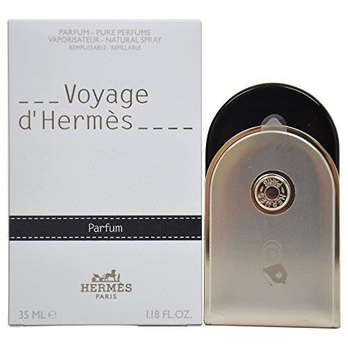 HERMES VOYAGE D'HERMES, agua de perfume vaporizador para hombre, 35 ml