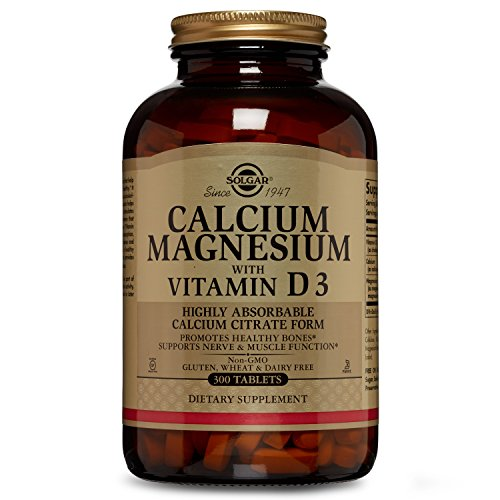 Solgar - Calcium Magnesium with Vitamin D3, 300 Tablets