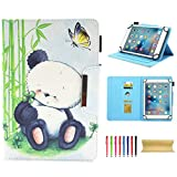 Universal Case for 7.0 Inch Tablet, Techcircle Slim PU Leather Stand Folio Wallet