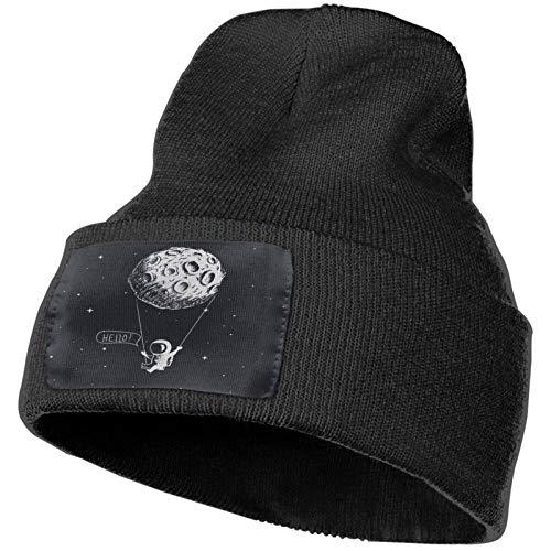Universe Winter Knitted Caps Sombrero de Punto Suave Gorro cálido para Hombres y Mujeres