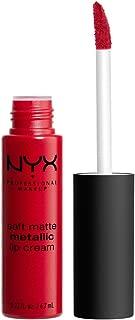 NYX PROFESSIONAL MAKEUP Soft Matte Metallic Lip Cream, Monte Carlo, 0.22 Ounce