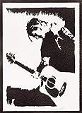 Kurt Cobain Poster Nirvana Plakat Handmade Graffiti Street Art - Artwork