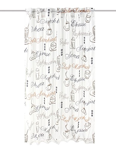 Home Fashion 95486-502 - Visillo Impreso (160 x 140 cm), Color Beige