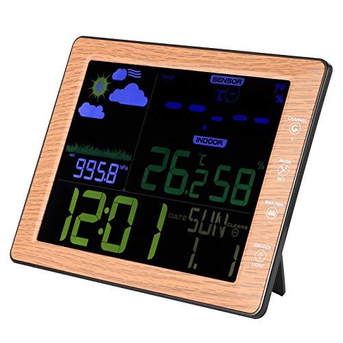 hong Despertador, Despertador Digital Reloj Digital, Relojes para Interior al Aire Libre