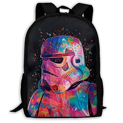 Star War Shoulder Bag Bookbag Children's Backpack Boys Travel Bag Laptop Backpacks for Women Men,Size 43X28X16Cm