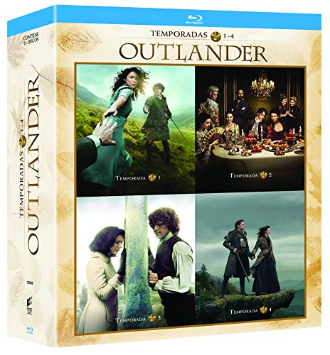 Pack: Outlander - Temporadas 1-4 [Blu-ray]