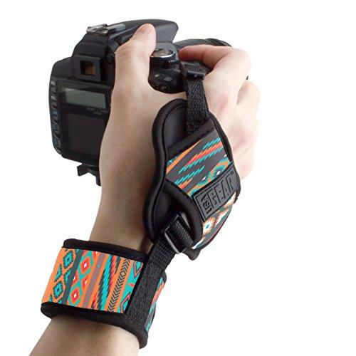 USA GEAR Empuñadura de Muñeca Correa de Mano para Cámara de Fotos Réflex Compatible con Canon,Nikon,Sony,Pentax y Muchas más. Diseño Azteca