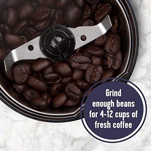 Mr. Coffee Electric Coffee Grinder Coffee Bean Grinder  Spice Grinder, Black