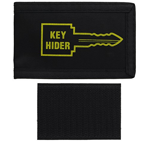 Ram-Pro Soft Hide-A-Key Holder Pouch Large with Self Adhesive - Pouch Spare...