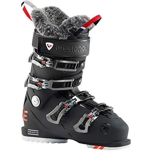 Rossignol Pure Elite 120 Damen Skischuhe, Soft Black, 23.5