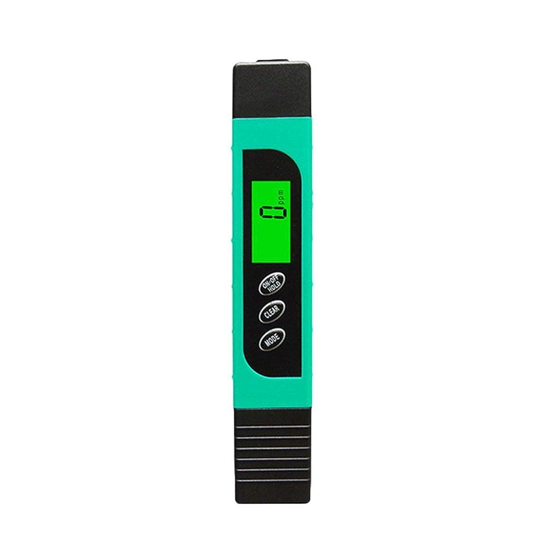 エンドテーブル合成消化多機能TDSメーターテスターポータブルデジタルペン0.01高精度フィルター測定水質純度テストツール - ブルー