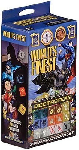 gran descuento Dice Masters  World's Finest Starter Set by by by Dice Masters  World's Finest  Centro comercial profesional integrado en línea.