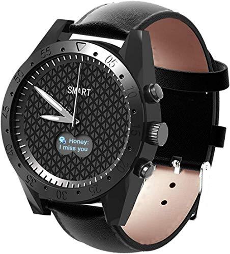 Exquisito reloj inteligente Bluetooth 1 3 pulgadas pantalla táctil completa Smartwatch IP67 impermeable Fitness Tracker reloj GPS podómetro con ritmo cardíaco/monitor de sueño adecuado para hombres