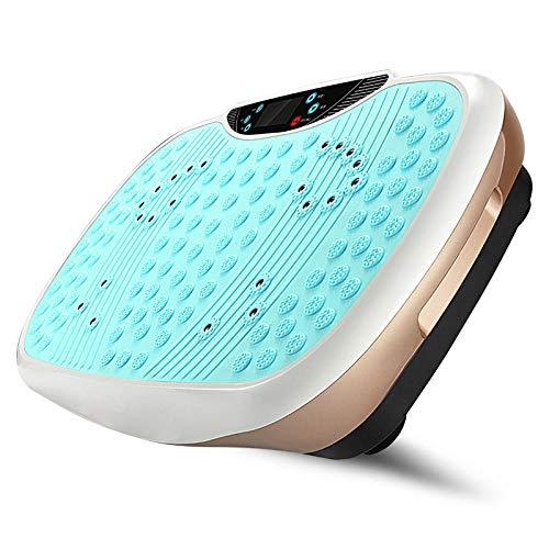 Plataforma Vibratoria Ultra Slim,Máquina de eliminación de Grasa para Deportes domésticos, máquina de agitación Perezosa,Vibratoria Máquina de Ejercicio