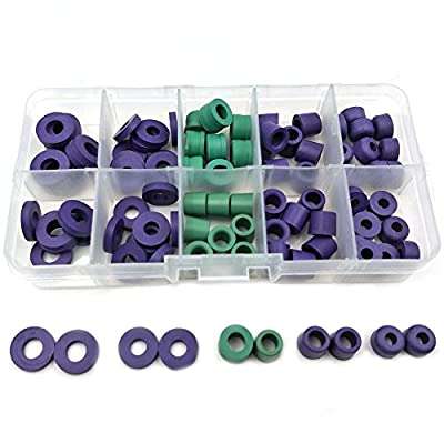94pcs/Set O-ring Kit R134a Car Air Conditioning Refrigerant Table Pipe Rubber Ring Seals Gaskets Seals Box Tool Parts