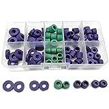94pcs/Set O-Ring Kit R134a Car Air Conditioning Refrigerant Table Pipe Rubber Ring Seals Gaskets Seals Box Tool Parts
