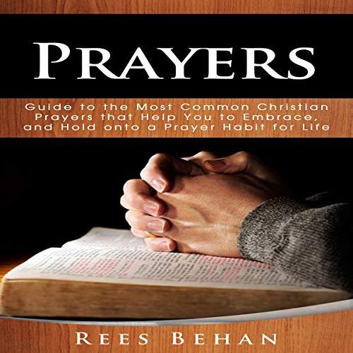 Prayers audiobook cover art