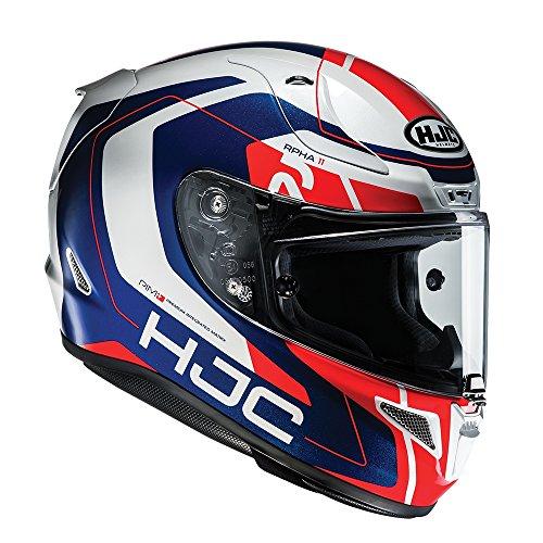 R1CHRM - HJC RPHA 11 Chakri Motorcycle Helmet M Red White Blue (MC21)