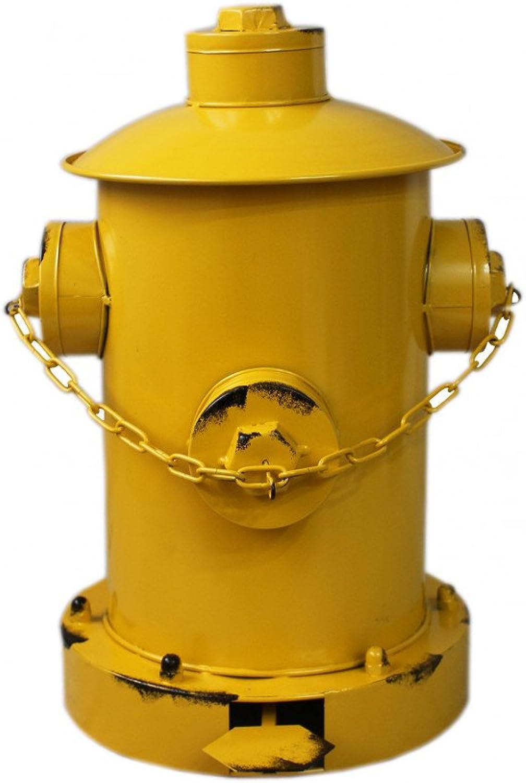 Hogar y Mas Mas Mas Papelera amarilla de Metal envejecido en Forma de Toma de Agua Para Los bomberos - Estilo Factory B079YRLH2P | Ein Gleichgewicht zwischen Zähigkeit und Härte  a3a8ac