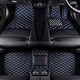 Coche Mat Suelo Alfombra Cuero Alfombrillas Antideslizantes Esteras Impermeable Moqueta Set Delanteras y Traseras Cobertura Completa para BMW 3 Series F30/F31 2012 Accesorios