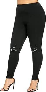 Fine Women's Printed Leggings Full-Length Plus Size Pants Yoga Workout Pants Soft Leggings
