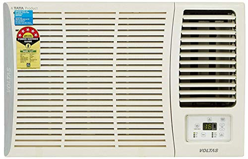 Voltas 1.5 Ton 5 Star Window AC (Copper,185 DZA/185 DZA R32, White)